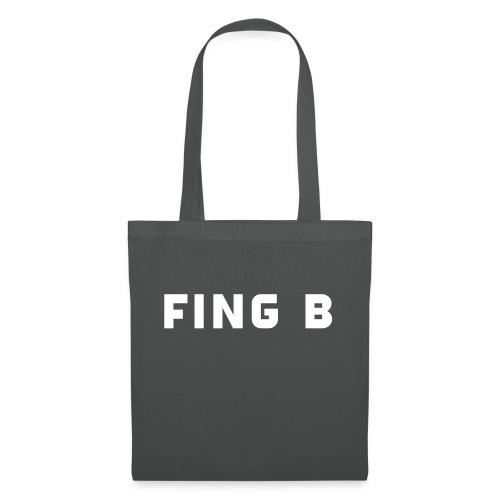 FING B Black Logo - Tygväska