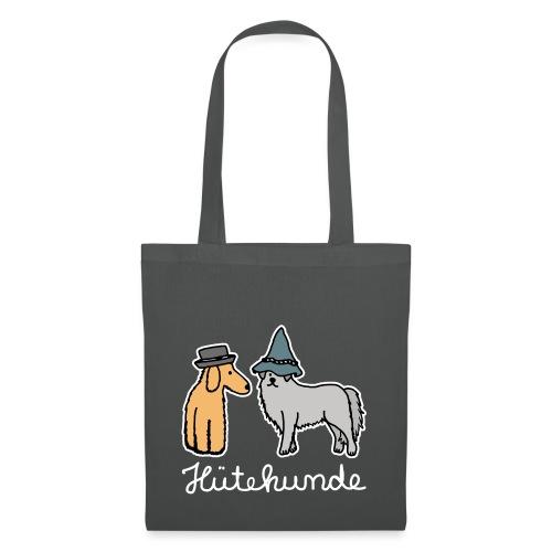 Hütehunde Hunde mit Hut Huetehund - Stoffbeutel