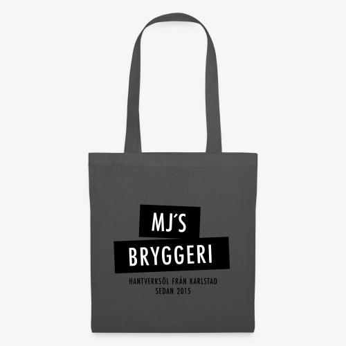 MJs logga - Tygväska