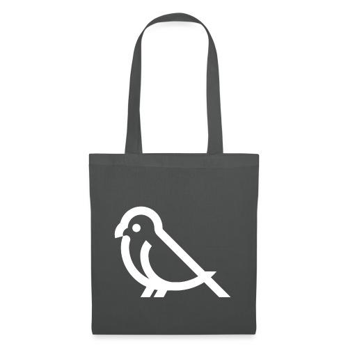 bird weiss - Stoffbeutel
