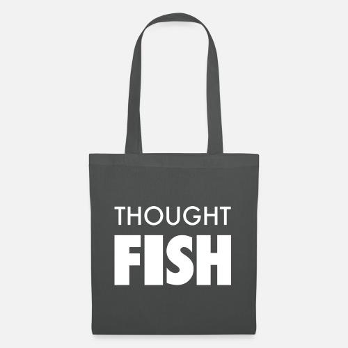 Thoughtfish font logo - Tote Bag