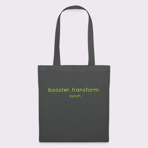 booster.transform zürich - Tote Bag