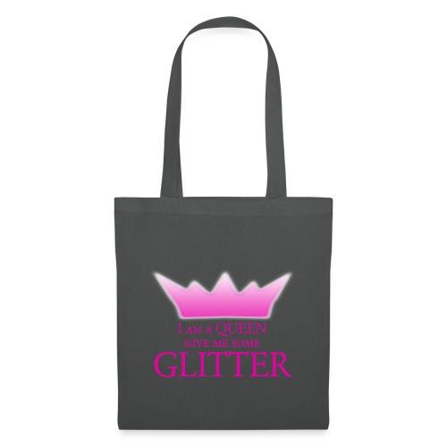 Glitter Queen - Stoffbeutel