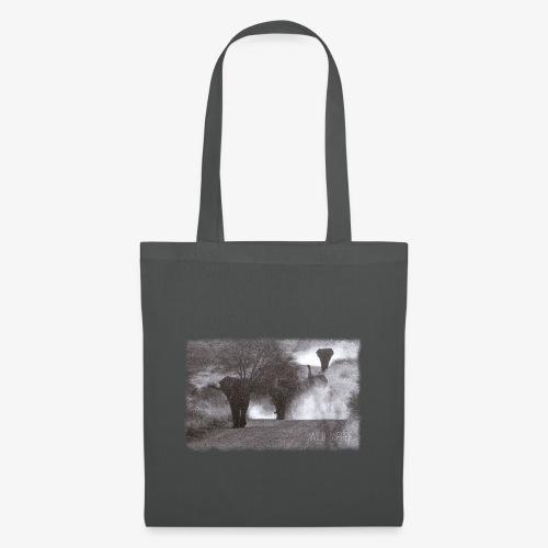 Elephants - Wild & Free - Stoffbeutel