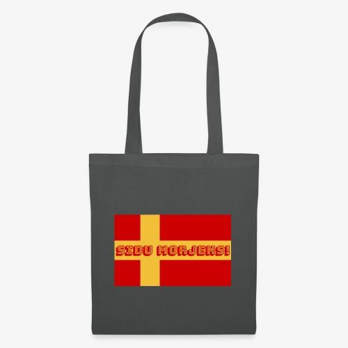 Sidu morjens! flagga - Tygväska