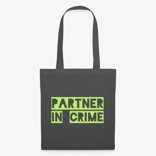 Partner in crime - Stoffbeutel