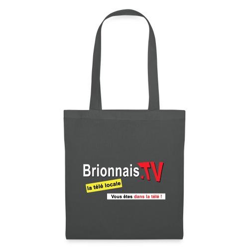 BTV logo shirt dos - Sac en tissu