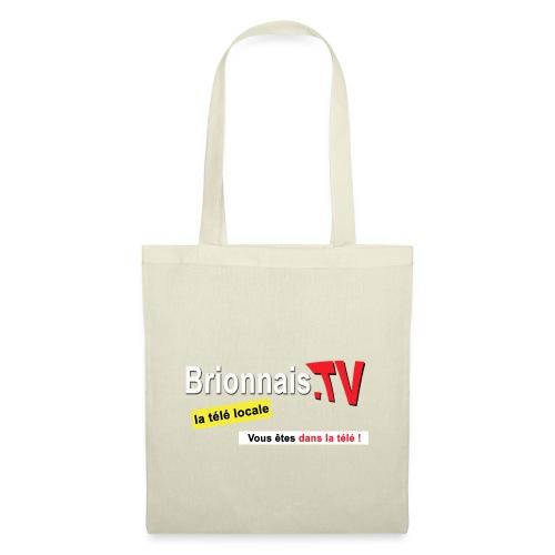 BTV logo shirt dos - Tote Bag