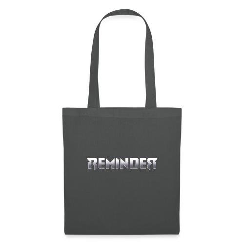 logo Reminder letters - Tas van stof