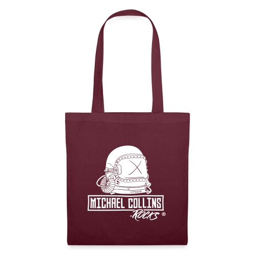 michaelcollins.rocks Logo Astronaut - Stoffbeutel