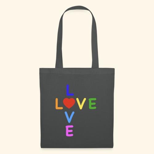 Rainbow Love. Regenbogen Liebe - Stoffbeutel