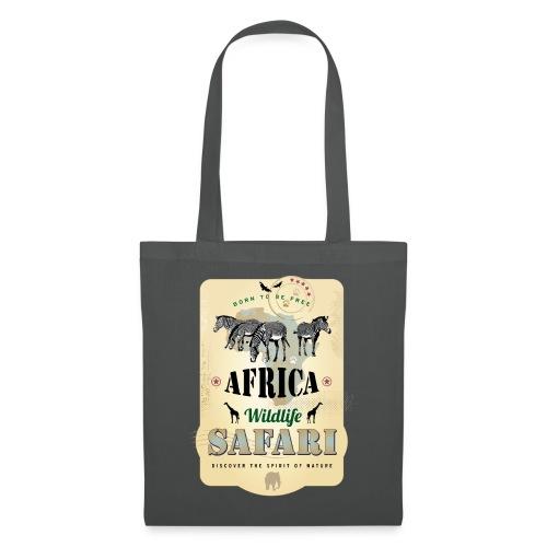 Zebras Africa Wildlife Safari Afrika Abenteuer - Tote Bag