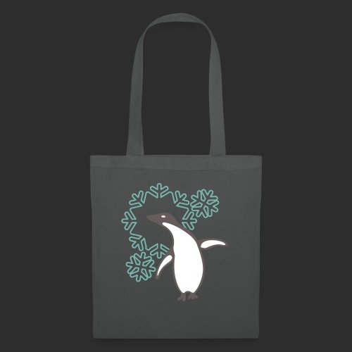 happy penguin - Stoffbeutel