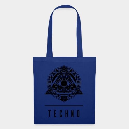 the EYE of TECHNO - Stoffbeutel
