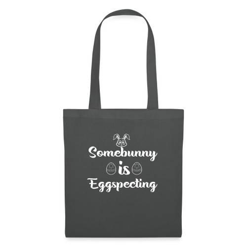 Eggspecting Easter Pregnancy Announcement Shirt - Tote Bag