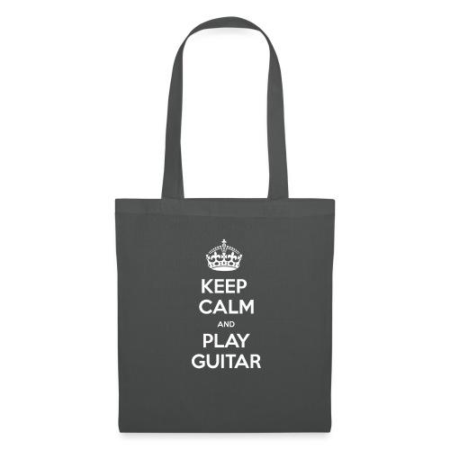 Keep Calm And Play Guitar - Borsa di stoffa