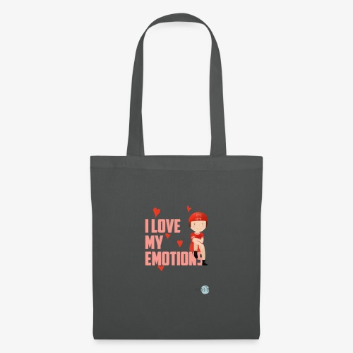 i love my emotions girl - Borsa di stoffa