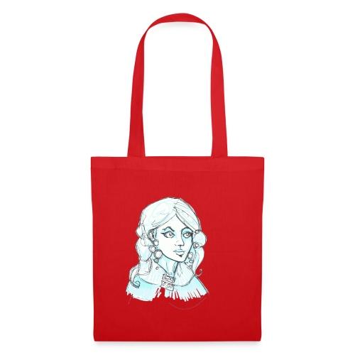 blue lady2 - Tote Bag