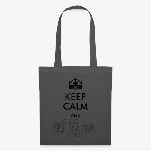 keepcalmandexplore - Tote Bag