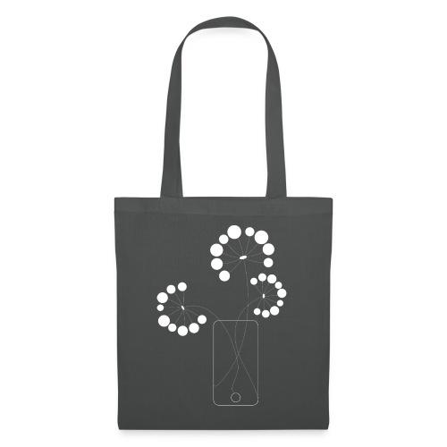 phone flower - Tote Bag
