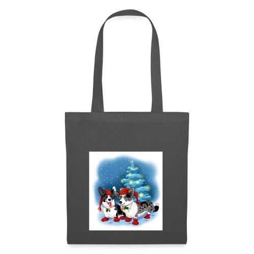 CORGI CHRISTMAS - Stoffveske
