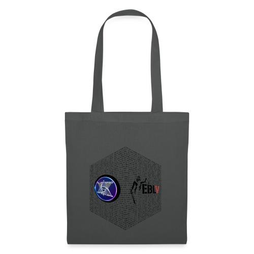 disen o dos canales cubo binario logos delante - Tote Bag