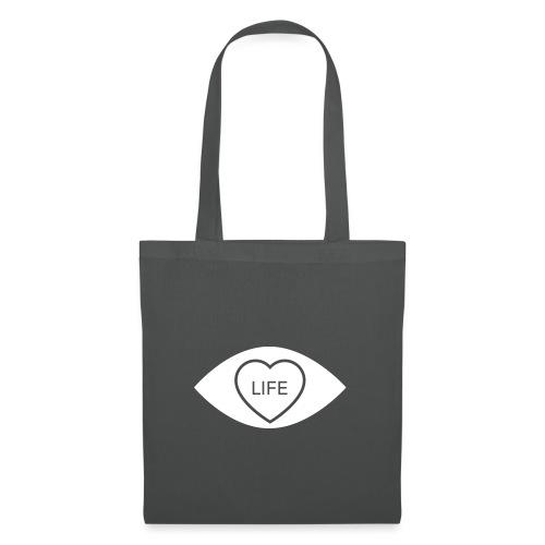 White Eye Love... Life Accessories - Tote Bag
