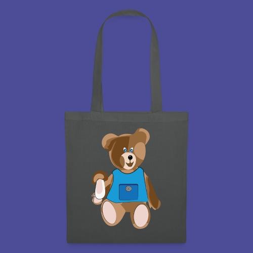 Teddy mit Schürze - Stoffbeutel