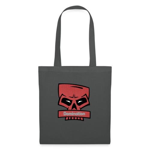 Domination red skull - Stoffveske