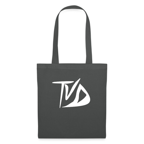 T-Shirt TvD / Black - Tas van stof