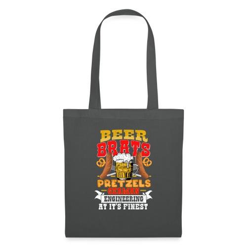 Bier, Bratwurst, deutsches... - Stoffbeutel