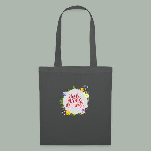 T-shirt für beste Mama der Welt am Muttertag - Stoffbeutel
