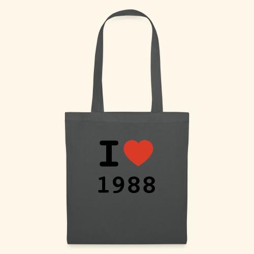 I Love 88 b 001 - Stoffbeutel