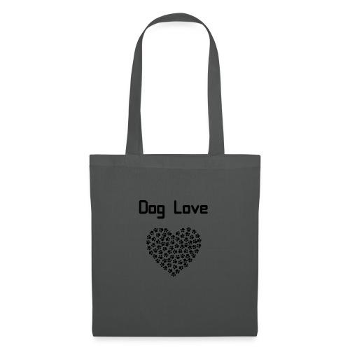 Dog love - Torba materiałowa