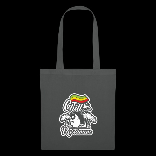 artfull dodger Chill Rastaman White version - Tote Bag