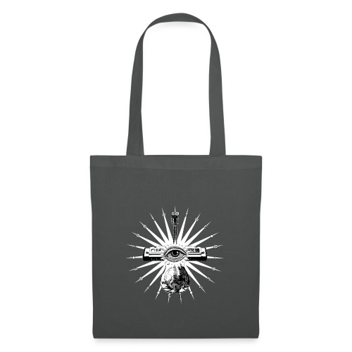 Blues Is The Truth - white star - Tote Bag