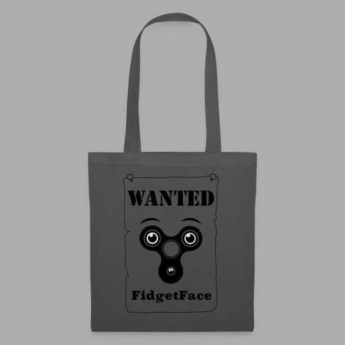 Fidget Spinner Face Wanted - Tote Bag
