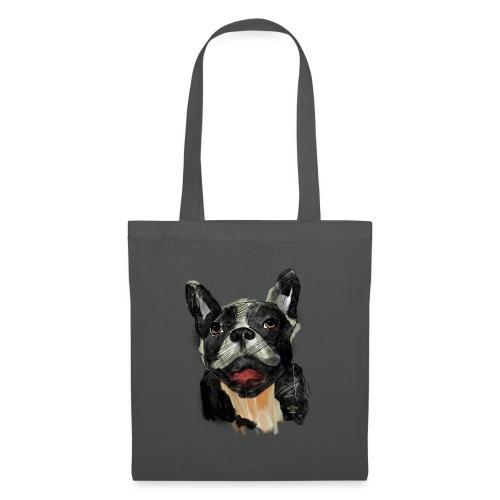 French Bulldog Portrait - lebendig und urban - Stoffbeutel