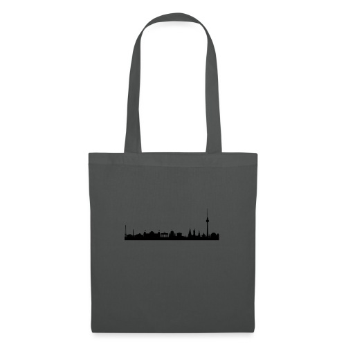 berlin skyline - Stoffbeutel