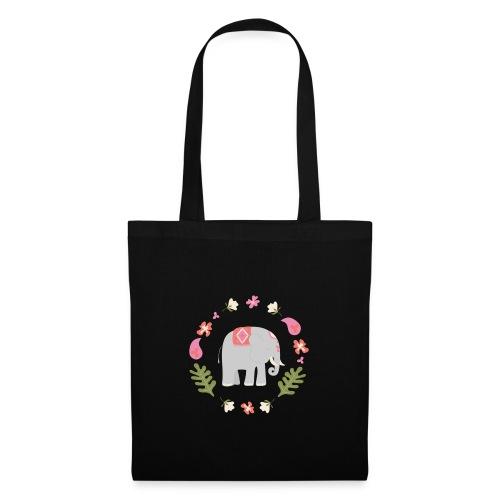 Indian elephant - Borsa di stoffa