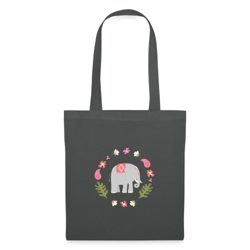 Indian elephant - Borsa di stoffa