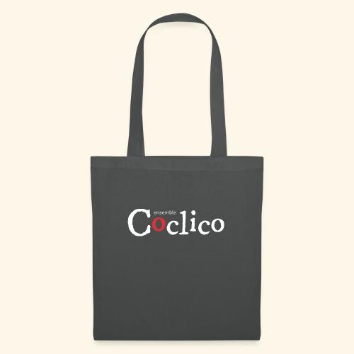 Logo Coclico blanc - Sac en tissu