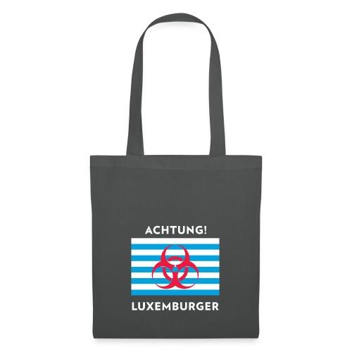 Achtung Luxemburger - Stoffbeutel