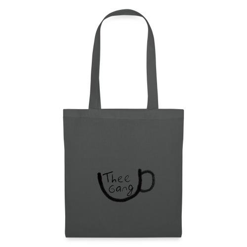 theegang zwart - Tas van stof