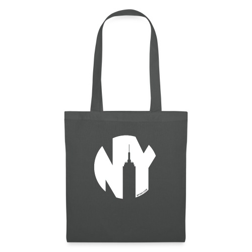 Logo French Yorker blanc - Tote Bag