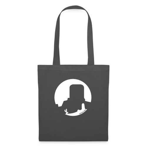 Logo French Wester blanc - Tote Bag