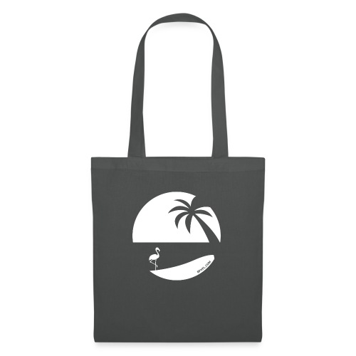 Logo French Floridian blanc - Sac en tissu