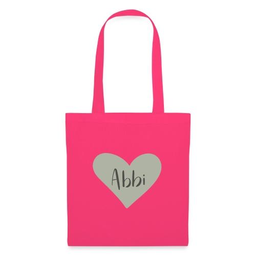 Abbi - hjärta - Tygväska