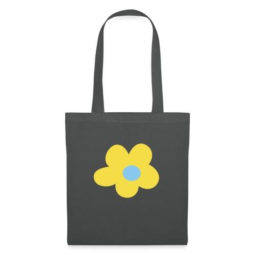 Kinder Comic - Blume - Stoffbeutel