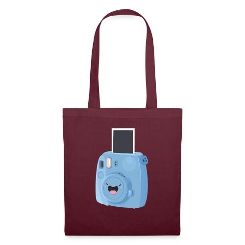 Appareil photo instantané bleu - Tote Bag